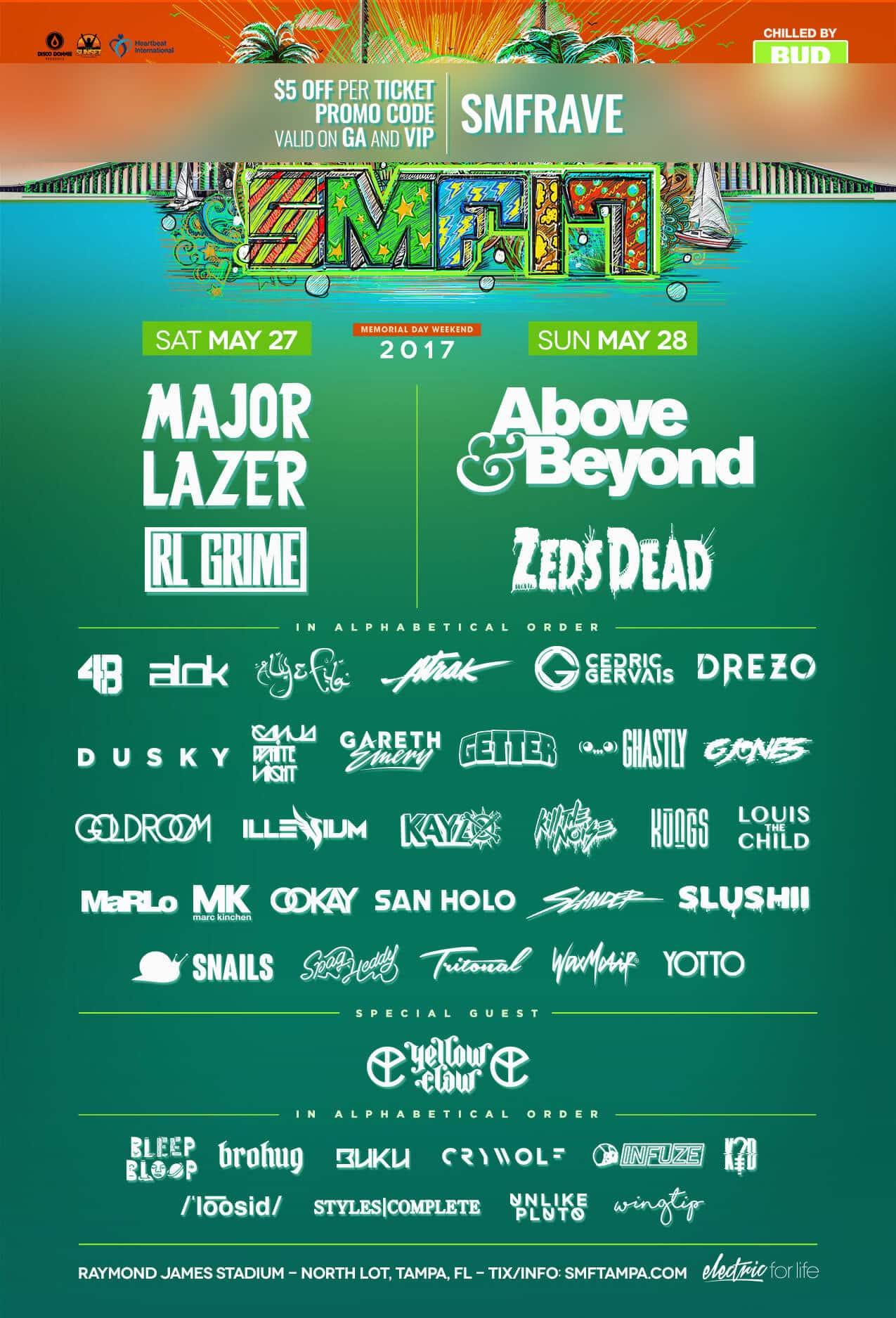Sunset Music Festival 2020 Lineup.Sunset Music Festival Lineup 2020 Festival 2020