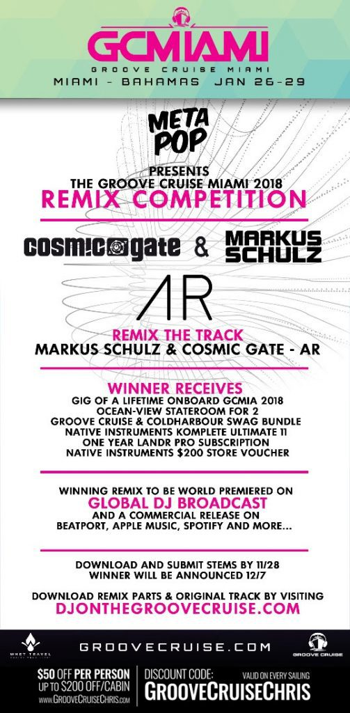 Groove Cruise Miami 2018 Remix Competition recap and DJ