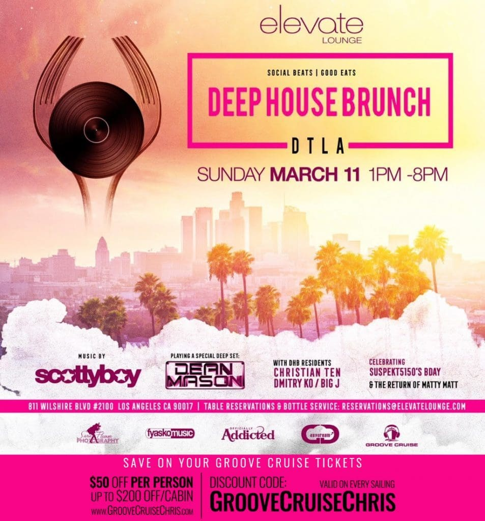 elevate lounge deep house brunch 953x1024