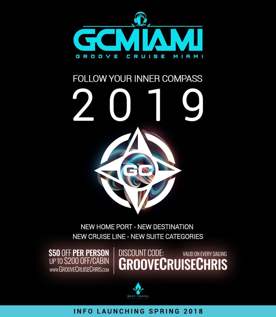 groove cruise miami 2019 teaser flyer