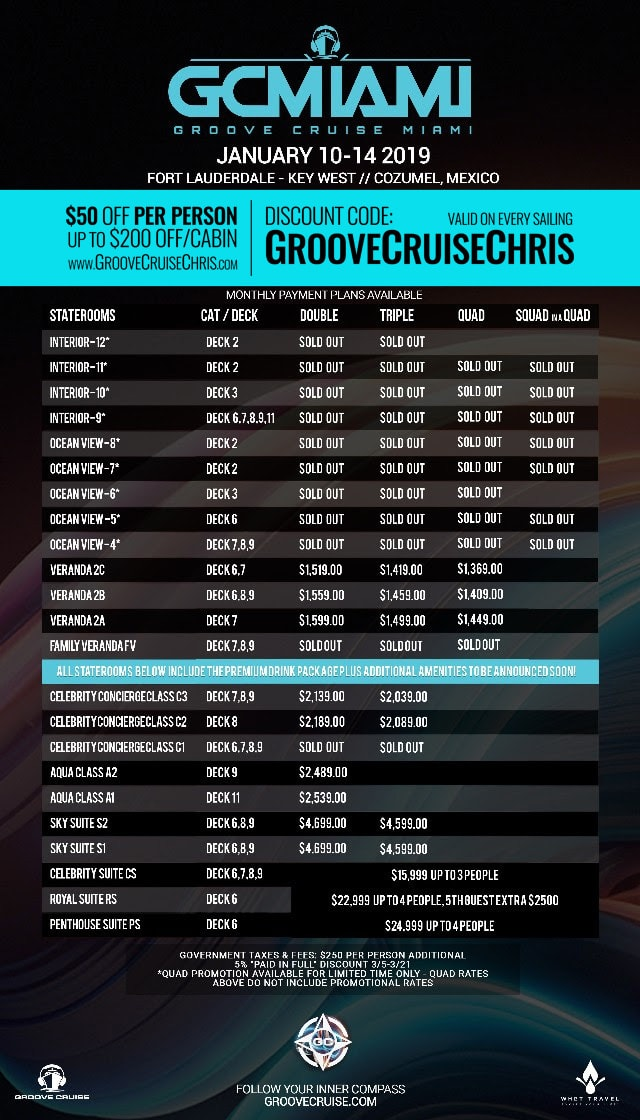 groove cruise miami 2019 price update 1
