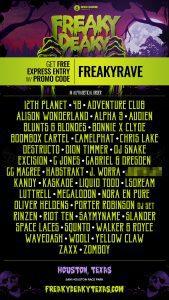 freaky deaky 2018 lineup 169x300