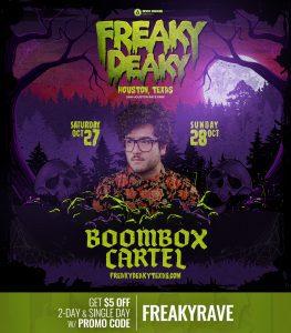 Boombox Cartel Freaky Deaky 2018 lineup 263x300