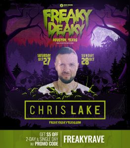 ChrisLake Freaky Deaky 2018 lineup 263x300