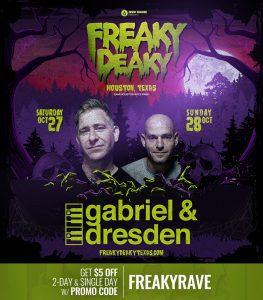 Gabriel Dresden Freaky Deaky 2018 lineup 263x300