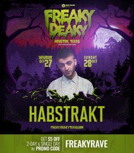 Habstrakt Freaky Deaky 2018 lineup 263x300