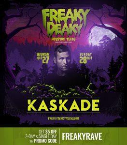 Kaskade Freaky Deaky 2018 lineup 263x300