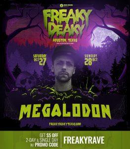 Megalodon Freaky Deaky 2018 lineup 263x300
