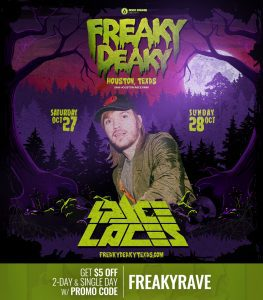 Space Laces Freaky Deaky 2018 lineup 263x300