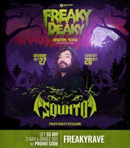 Squnto Freaky Deaky 2018 lineup 263x300