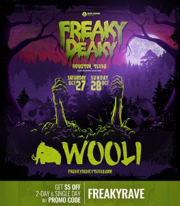 Wooli Freaky Deaky 2018 lineup 263x300