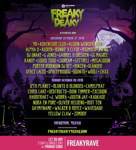 freaky deaky 2018 single day lineup 4 272x300