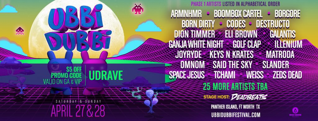 ubbi dubbi 2019 lineup phase 1 header 1024x390
