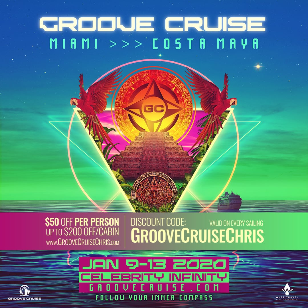 Groove Cruise Miami 2020 flyer 1