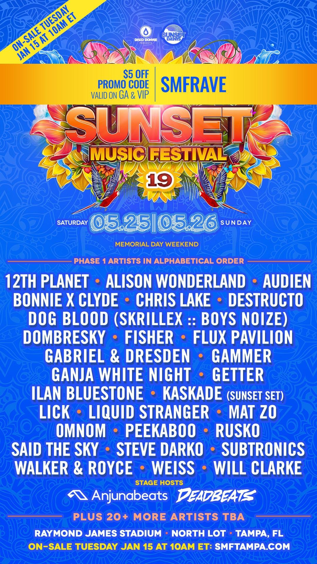 Image result for sunset music festival 2019