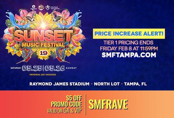 SMF 2019 tickets tier 1 price increase soon