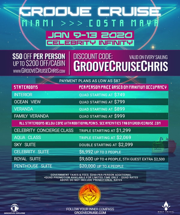 groove cruise miami 2020 prices