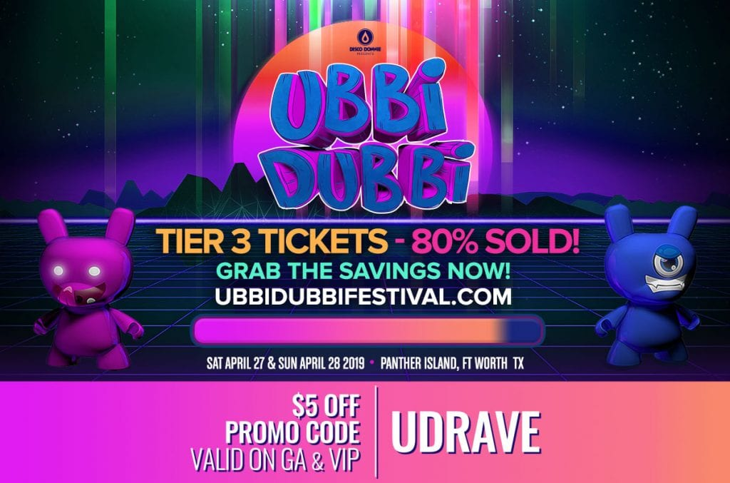 ubbi dubbi 2019 tickets tier 3 80 percent sold out 1024x677