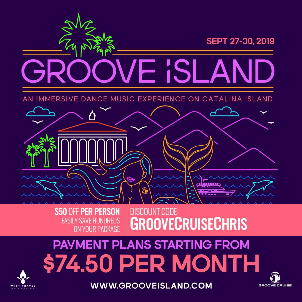 Groove Island 2019 payment plan flyer 1024x1024