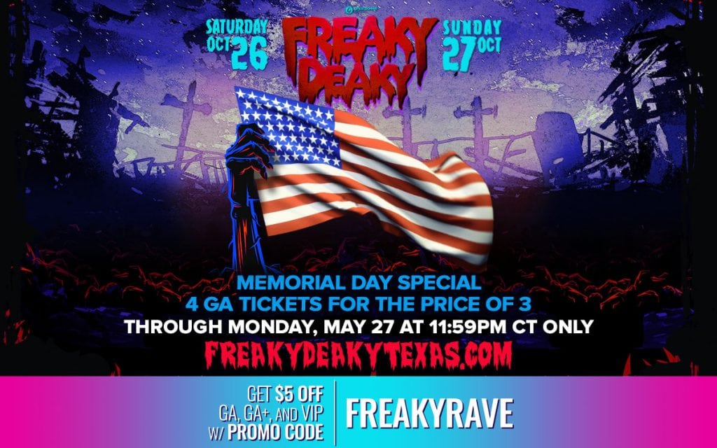 freaky deaky 2019 4 for 3 tickets lowest price 1024x640