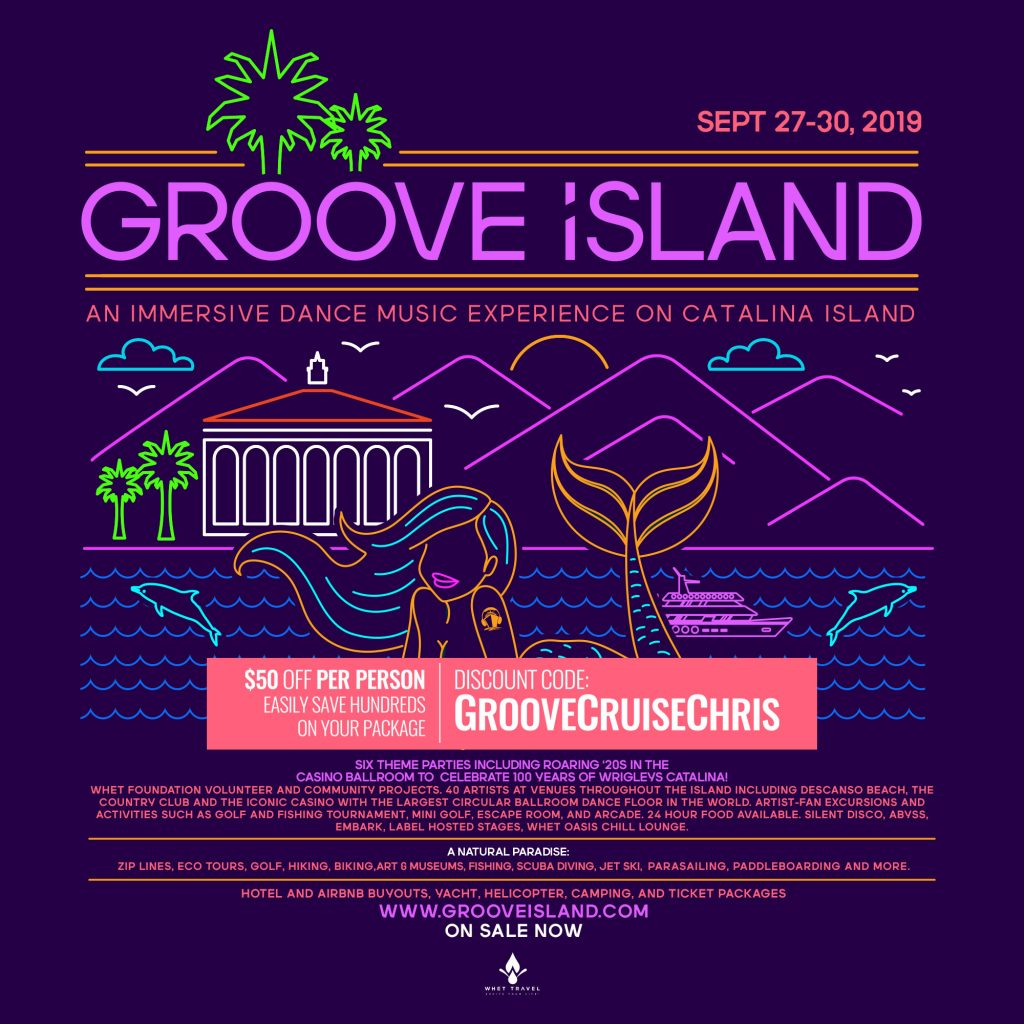 Differences between Groove Cruise and Groove Island - Note from