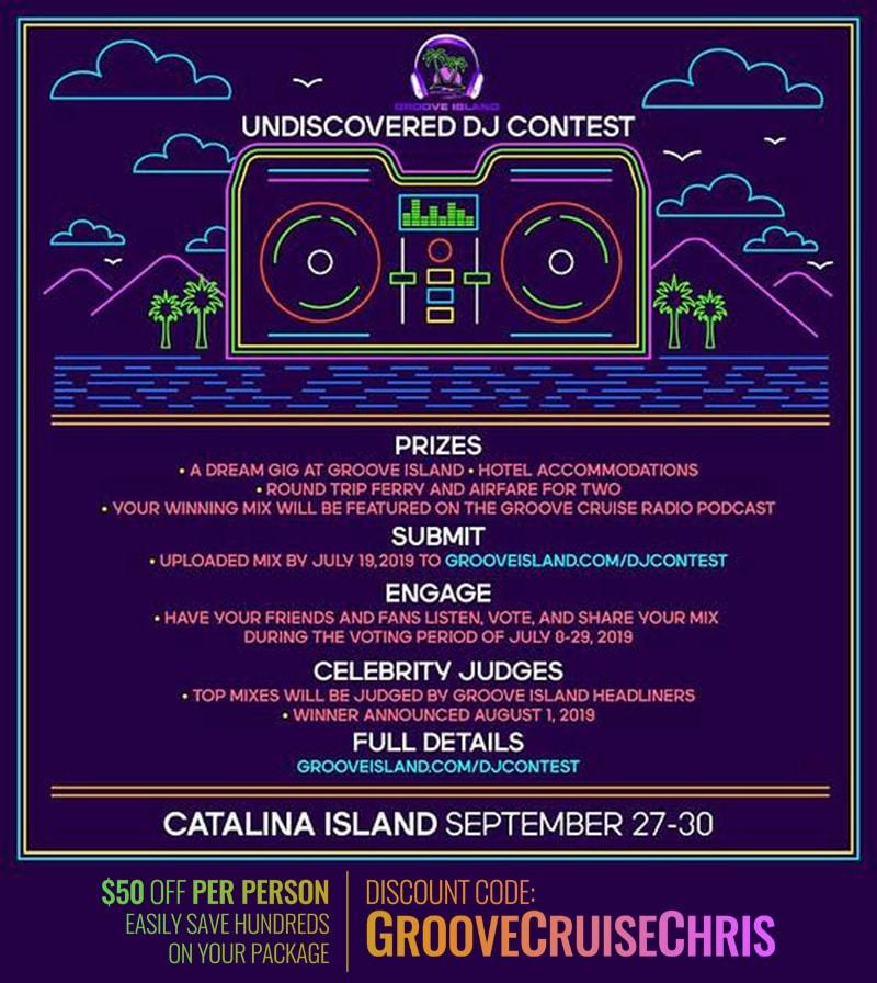 groove island 2019 dj contest